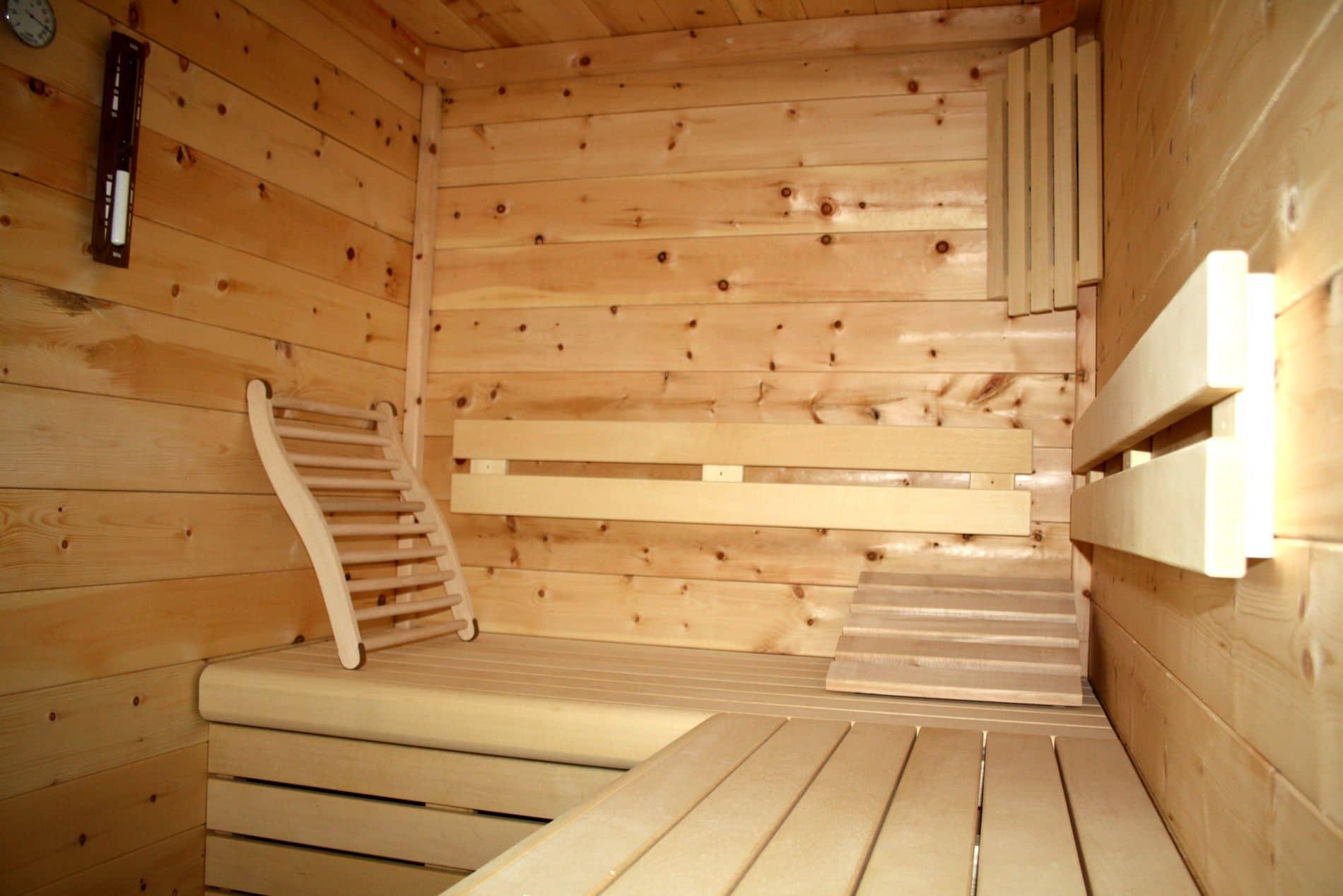 Bezaubernd Sauna Für Zuhause Sammlung Von Sauna-holz -