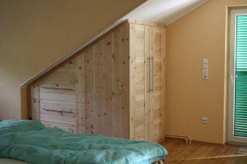 Schlafzimmer In Zirbe Makeover Wohnraum8