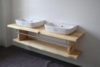 Holz im Badezimmer: Elegant und praktisch - Wohnraum8